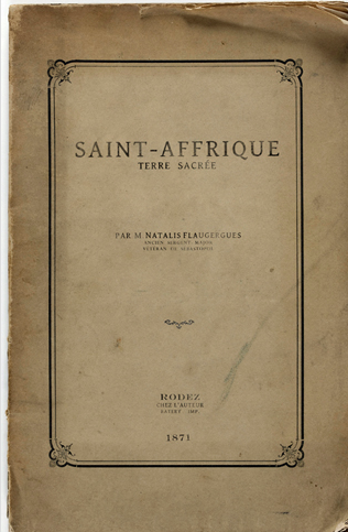 Saint-Afrique, sacred ground (1871)
