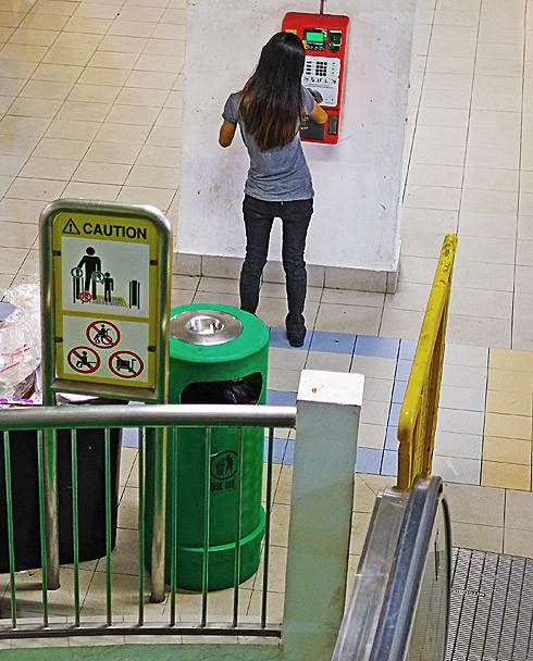 Singapore, November 2012, photo (c) John Tranter