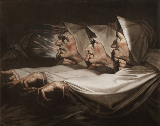 Henry Fuseli The Three Witches 1783
