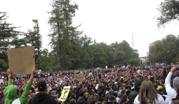 Occupy UC–Davis, November 2011.