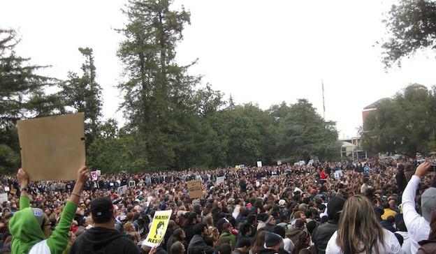 Occupy UC–Davis, November 2011.