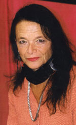 Anne Waldman, Berlin 2002 -- Photo by John Tranter