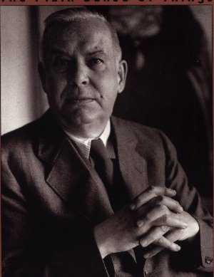 Wallace Stevens dark portrait