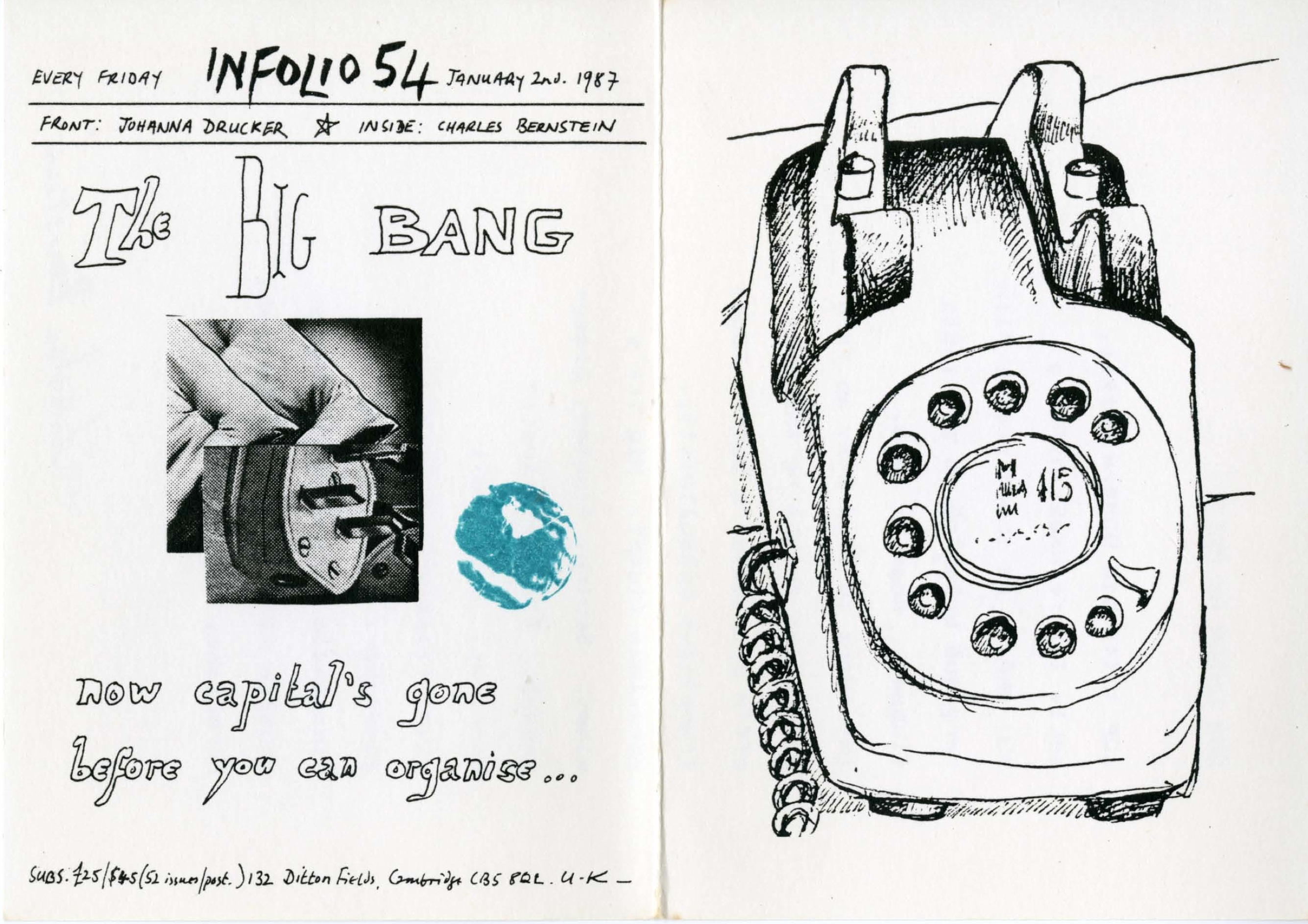 Infolio 54, January 2, 1987