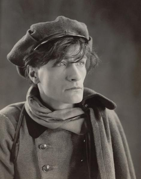 Antonin Artaud, 1926, By Agence de presse Meurisse‏ - Courtesy of Bibliothèque nationale de France