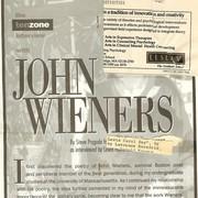 'Tenzone' interviews John Wieners