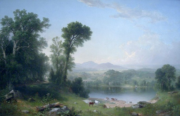Pastoral Landscape, Asher Brown Durand, 1861