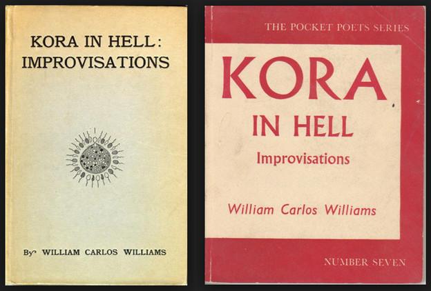 William Carlos Williams kora in hell improvisations