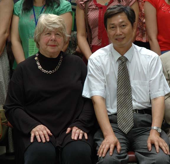 Marjorie Perloff & Nie Zhenzhao