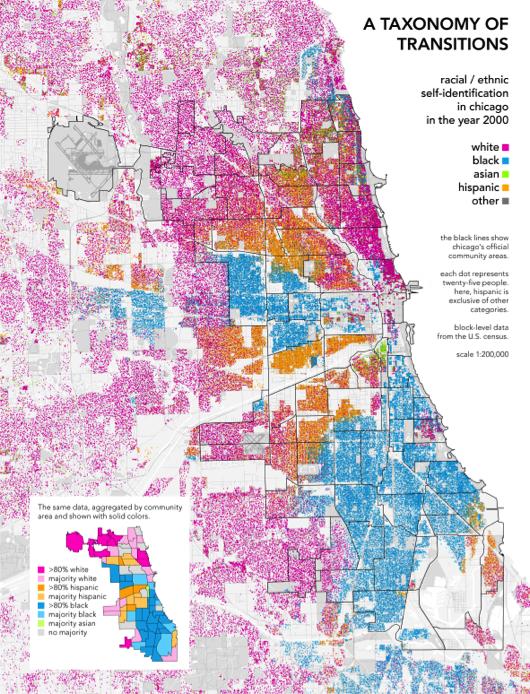 "Bill Rankin, ""Chicago Boundaries,"" Radical Cartography, 2009"