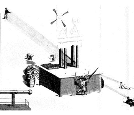 James Tilly Matthews, The Air-Loom Machine, c. 1810