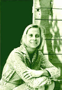 Barbara Guest, Sermoneta, Italy, 1968