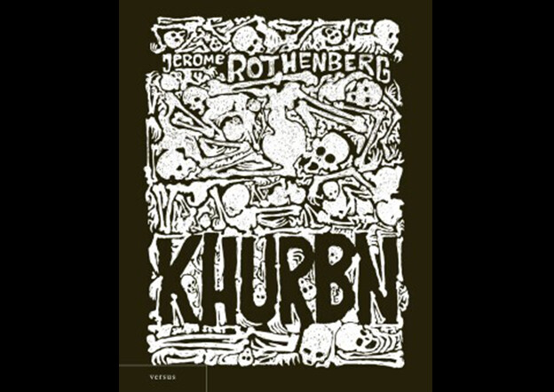 Cover of the Lithuanian edition of Khurbn by Algimantas Černiauskas
