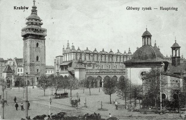 Kraków, the city where Trakl died in 1914.