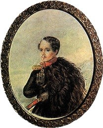 Mikhail Lermontov - Selfportrait - 1837