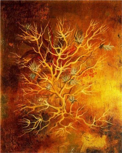 Plant (1960) by Remedios Varo