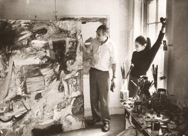 Milton Resnick and Pat Passlof, circa 1970